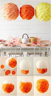 Bold And Bright Tissue Paper Discs Lanterns