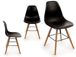 stühle esszimmerstuhl schwarz 4er set wohnzimmer küchenstuhl
