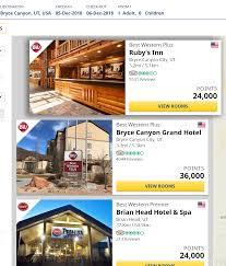 100 Hotels In Page Utah Best Western Rewards Devaluation Change From Seasonal Rates