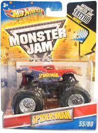 100 Spiderman Monster Truck Amazoncom HOT WHEELS SPIDERMAN MONSTER JAM TRUCK TATTOO SERIES 1
