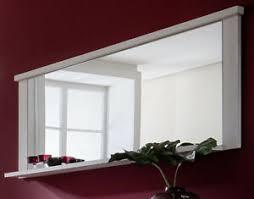 details zu wandspiegel ablage spiegel rahmen weiß pinie struktur 197 cm esszimmer