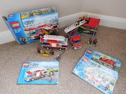 LEGO CITY - FIRE TRUCK/ENGINE & EMERGENCY SET - 60002 & 60003 ...