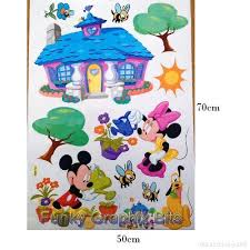 chambre minnie mouse stickers geant disney cheap photo ambiance chambre enfant sticker
