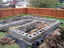 Cinder Block Garden Designs