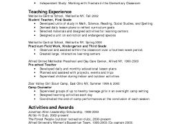 Pre K Teacher Resume Complete Mercetoolsus Sample Xa E126095