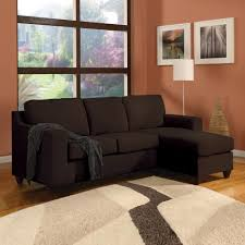 Chocolate Corduroy Sectional Sofa by Sectionals Living Room Furniture The Home Depot
