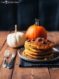 Easy Healthy Pumpkin Pancake Recipe by I Am Gluten Free Gluten Free College Recipes Family Meals And