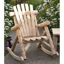 Image Of Rustic Rocking Chairs Outdoor