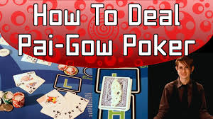 Pai Gow Tiles Strategy by How To Deal Pai Gow Poker Full Video Youtube