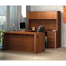 bestar embassy officepro 60000 u shaped desk tuscany brown