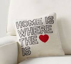 Home Is Where The Heart Pillow