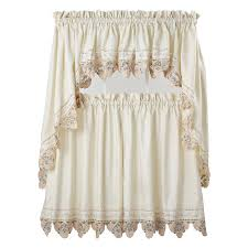 Jcp White Curtain Rods by Sears Kitchen Curtains Trends Also Decor Jcpenney Gallery With