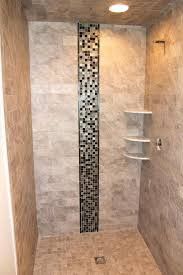 shower dimensions with bench walk in designs without doors tiled