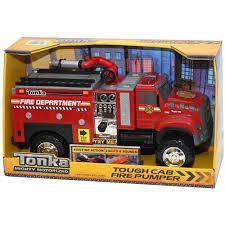 100 Tonka Mighty Motorized Fire Truck Tough Cab Pumper Red Walmartcom
