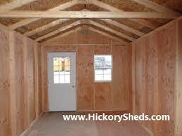 old hickory sheds cabins