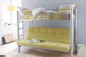 mezzanine avec canapé lit mezzanine avec banquette clic clac lit mezzanine