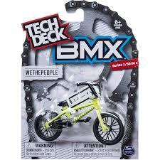 tech deck series 1 bmx finger bike grey haro tech deck