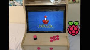 bartop arcade cabinet build powered by raspberry pi 1 2 3 or zero