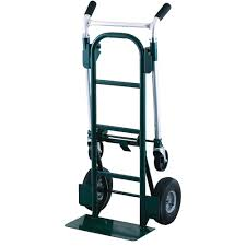 Harper Trucks 900 Lb Steel Quick Release Convertible Hand Truck With ...