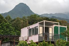 100 Container Dwellings Worlds Priciest Market Has People Living In Illegal Steel Boxes