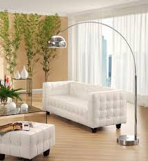 West Elm Overarching Floor Lamp by Floor Lamps That Hang Over Couch Stunning Overarching Linen Shade