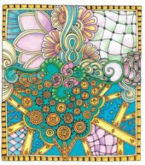 Try These Adult Coloring Templates From Color Me Stress