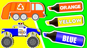 Learn Colours & Vehicles: TRUCKS ☆ Coloring Book ☆ Color Lesson ... Car Race Cars For Kids Videos Childrens Youtube Garbage Truck Kids Videos Learn Transport Tow Truck And Repairs For Number Counting Firetrucks Learning Video Garbage The Images Collection Of Out A Trucks U Toddlers Video George The Giant Dump More Big Trucks Geckos Fire Children Best 2014 Patrol Tyre Slasher City Police Fire Toy Youtube Larry Lorry Garage
