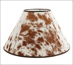 Pottery Barn Floor Lamp Shades by Pb Basic Cowhide Lamp Shade Pottery Barn