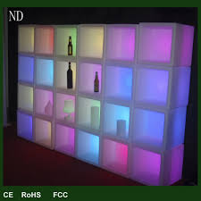 square recessed led light bar led light bar bar hotel upscale wine