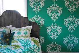 Diy Wall Stencil Patterns Cool Home Design Excellent In