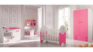 chambre de bébé fille complète small et blanc glicerio so nuit