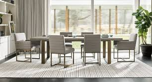 Modern Robards Dining Room Set Flint W Cooper Chairs Quartz
