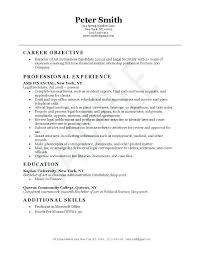Resume Examples For Secretary Legal Unique Example Of