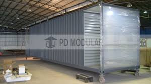 100 Shipping Container House Kit Hot Item Price Low Cost Modern Design Customized Portable Modified Standard