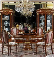 runder esstisch 8 stühle stuhl esszimmer komplett garnitur barock rokoko set