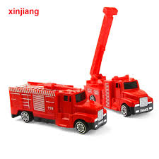 100 Toy Fire Truck Detail Feedback Questions About 2 Types Engine Model Alloy Car