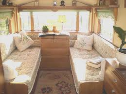 Rv Remodel Of Vintage Camper Interior Ideas Rhcom