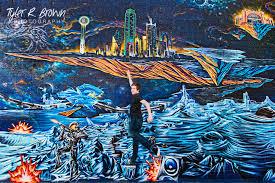 Deep Ellum Dallas Murals by Hebron High Senior Trevor Johnson U0027s Downtown Dallas Session