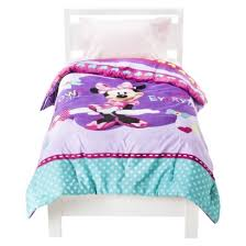 Minnie Mouse Bedding Set Twin by Disney Minnie Mouse Comforter Purple Twin Kids Pinterest