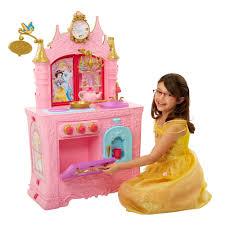 Princess Kitchen Play Set Walmart by Amazon Com Disney Princess Royal 2 Sided Kitchen U0026 Caf Toys U0026 Games