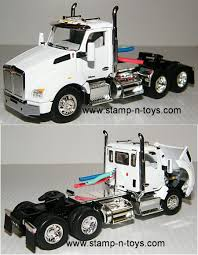 100 Diecast Promotions Trucks DCP 3989cab Kenworth T880 Daycab StampnToys
