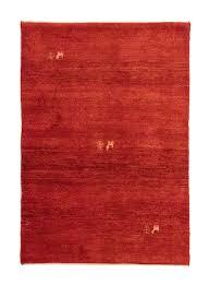 gabbeh teppich 145 x 100 cm rot morgenland teppiche