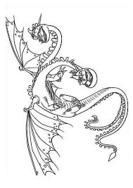 How To Train Your Dragon Coloring Pages Barf And Belch