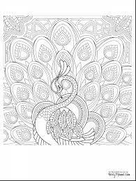 Terrific Peacock Adult Coloring Pages Printable With Page And Pdf