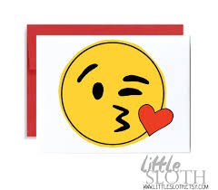 Emoji Pumpkin Carving Designs by Kiss Face Emoji Valentine Funny Card Red Yellow Iphone