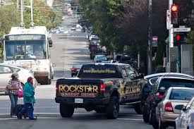100 Redbull Truck ROCKSTAR ENGERGY DRINK Pickup Driver Drives As If Hes Had Too