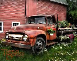 Flower Truck Antique Ford Original By TammieBowdenPhoto 2800