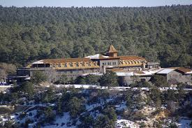 El Tovar Dining Room by Grand Canyon Village El Tovar Hotel Grand Canyon Santa Fe And