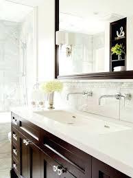 Double Faucet Trough Sink Vanity by Vanities Trough Sink Vanity With Two Faucets Trough Sink And