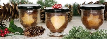 weihnachtskuchen im glas